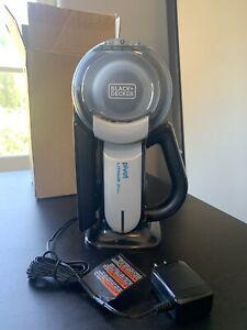 BLACK+DECKER 20V Max Handheld Cordless Pivot Vacuum Vac Grey (BDH2000PL)