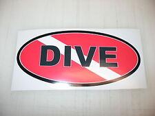SCUBA DIVE Car Window Decal Sticker 4 Bumper Tank & Gear w/ FREE Flag