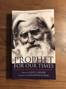 Buch Peter Deunov Prophet for our Times David Lorimer Beinsa Dounov Englisch