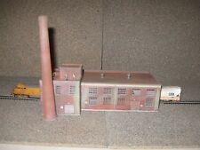 Walthers/Cornerstone N Scale Machine Shop   Custom Built, Weathered, Detailed