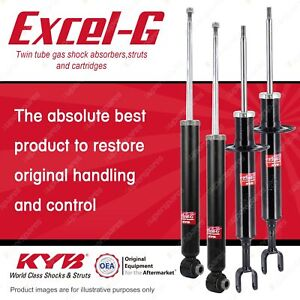 Front + Rear KYB EXCEL-G Shock Absorbers for AUDI A4 B7 All Styles