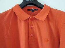 Gianfranco FERRE beachwear Luxus Designer Polo Hemd Shirt Gr 52 orange NEU