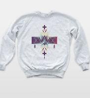 Navajo Hipster Cross Sweatshirt Vintage Dreamcatcher Indie Unisex Jumper