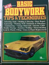 Basic Bodywork: Tips and Techniques