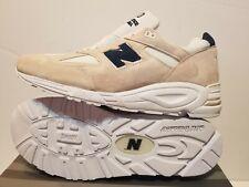 M990WE2 New Balance Men 990v2  M990WE2 -Made USA beige angora white black Sz 13