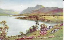 EARLY VALENTINE'S POSTCARD BY EDWARD H THOMPSON - LOCH LOMOND AND BEN LOMOND