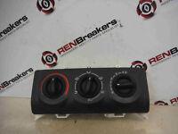 Renault Clio MK2 2001-2006 Heater Controls Switch Dials No Air Con