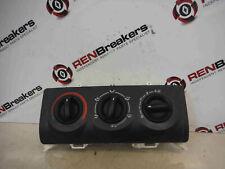 Renault Clio MK2 2001-2006 Heater Controls Switch Dials No Air Con 8200147154