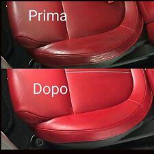 Kit Detergente restauro interni sedile Pulizia Forte Spazzola panno colourcare24