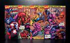 COMICS: Marvel: Heroes Reunited #1-4 (1997) - RARE (Avengers/Captain/Iron Man)