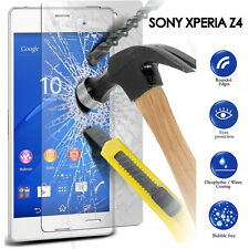 For Sony Xperia Z4 Genuine Ultra Clear Tempered Glass Film Scren Protector Guard