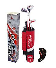 Golf Club Bag Set Child Toddler Age 3-5 Wood Putter Iron Play Fun Sport Bag