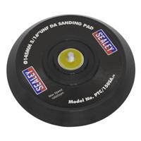 "PTC/150SA Sealey DA Backing Pad for Stick-On Discs Ø145mm5/16""UNF"