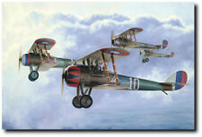 Uncle Sam's Boys by Russell Smith - Nieuport 28- Aviation Art Print