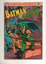 Brave and the Bold #85 Re-Intro & 1ST NEW GREEN ARROW by NEAL ADAMS 1969! VG 4.0