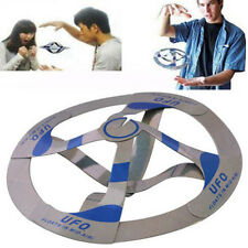 Interesting Mystery UFO Floating Flying Disk Hovers Saucer Magic Trick Toy EBUK