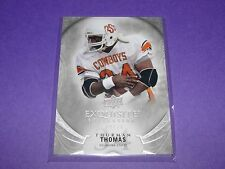 2013 Exquisite THURMAN THOMAS #27 Silver SP/70 Buffalo BILLS Oklahoma St COWBOYS