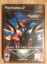 Zone Of The Enders (PS2 Playstation 2) Video Game