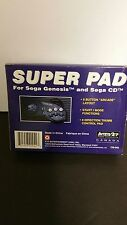 NEW Controller Game pad for Sega Genesis & Sega  CD  Interact 6 Button Super pad
