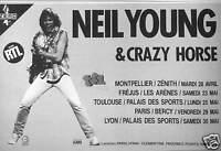 PUBLICITÉ NEIL YOUNG & CRAZY HORSE AVEC RTL