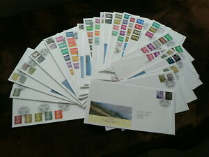 Royal Mail Definitive First Day Covers, 2007 - 2017, Machin Regional, Individual