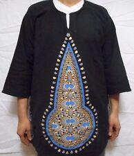 Dashiki African Mens Women Mud Cloth Ethnic Top Organic Cotton Vintage Plus Size