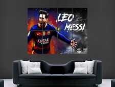 Lionel Messi Poster Sport FC Barcelona la Liga fútbol Pared Arte Impresión