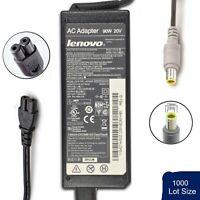 Lot of 1000 Genuine Lenovo ThinkPad Laptop AC Power Adapter 90W 20V 4.5A ROUND