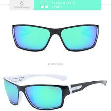 DUBERY Polarized Sunglasses Mens Sport Running Fishing Golfing Driving Glasses