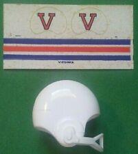 1970 NCAA Vintage VIRGINIA Cavaliers mini gumball football helmet decal college
