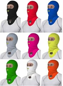 P1 Racewear Open Face Aramid Nomex Balaclava FIA approved, Race & Rally