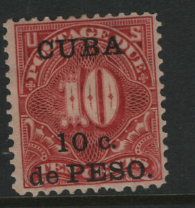US Caribbean Is possession #J4 Mint original gum