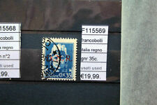 STAMP OLD ITALY 35 CENT GNR  USED RARE  (F115569)