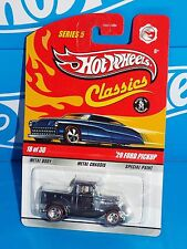 Hot Wheels 2009 Classics Series 5 #18 '29 Ford Pickup Spectraflame Steel Blue