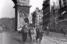 WW2 - Défilé des FFI pour la libération de Dijon en septembre 1944