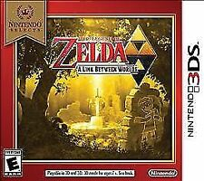 Legend of Zelda: A Link Between Worlds Nintendo Selects (Nintendo 3DS, 2018) NEW