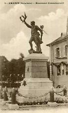 Carte AMANCE Monument commémoratif
