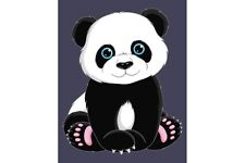 PAINT BY NUMBERS KIT PANDA