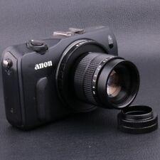 Fujian 35mm F1.7 CCTV TV Movie lens+C Mount to Canon EOS M EF-M Mirrorless Black