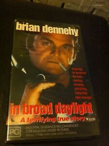 In Broad Daylight Brian Dennehy VHS Village Roadshow ex-rental video tape crime