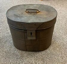 Vintage Metal Fireside Coal Ash Kindling Bucket Bin Scuttle with Lid