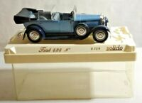 SOLIDO AGE D'OR 1:43 SCALE FIAT 525 N - LIGHT BLUE & BLACK - 4154 - CASED