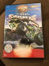 HotWheels  Monster Jam Tour Crushers DVD