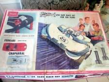 New ListingVintage 1966 Sears Professional 1/24 Slot Car Race Set W/ Several Cars