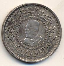 MOROCCO 500 francs - silver, 1956, XF