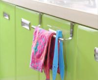 Kitchen Cabinet Hooks Bag Towel Hanger Cupboard Door Hanging Storage Rack Holder