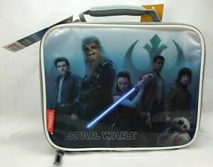 Star Wars The Last Jedi Soft Lunch Box (Bag) by Thermos, 100% PVC Free