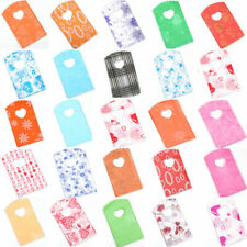 Nt 50pcs Wholesale Pretty Mixed Pattern Plastic Gifts Mini Bags Shopping Bags