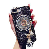 HN- Glittering Quicksand Shockproof Phone Case Cover for OPPO F7/F5/F5 Youth Mys
