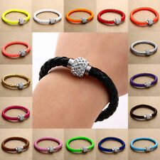 Rhinestone Leather Fashion Jewellery
